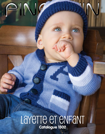Catalogue tricot Pingouin Layette