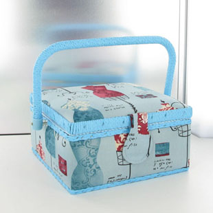 Bo tes couture travailleuses trousses voyages sac for Boite couture plastique