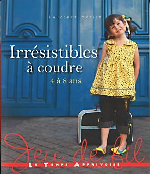 irresistibles a coudre 4 a 8 ans