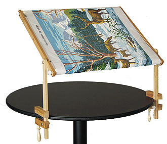 cadre enroulement fixe table. Black Bedroom Furniture Sets. Home Design Ideas