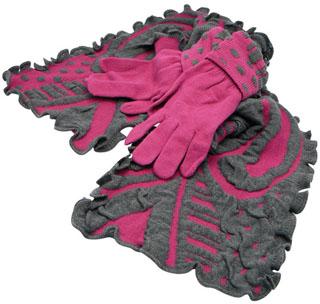 Echarpe et gants assortis femme Pétula ba1724a2f19