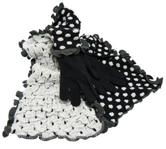Echarpe et gants assortis femme Princesse b5aa13ae626