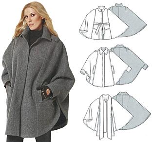 Patron manteau femme facile gratuit
