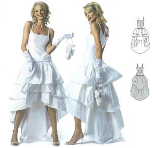 Patron robe de mariee burda
