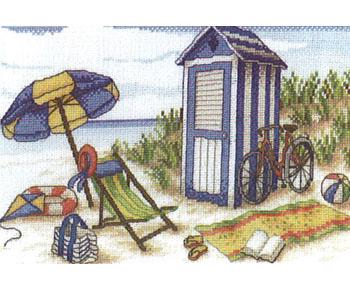 Cabine de plage for Plan cabine de plage en bois